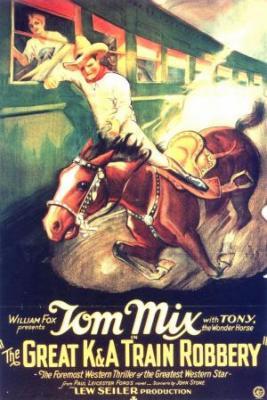 Великое ограбление поезда K & A (немое кино) / The Great K & A Train Robbery (1926)