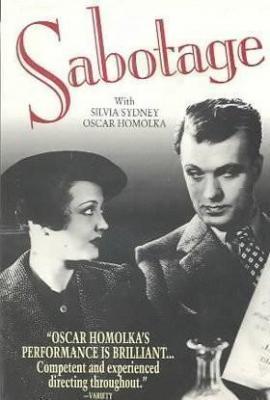 Саботаж / Sabotage (1936)