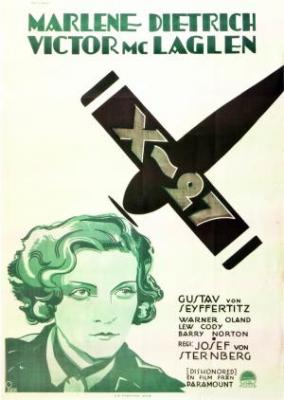 Обесчещенная или агент X-27 / Dishonored (1931)